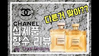 [디블]샤넬 신제품 향수리뷰!내돈내산리뷰/샤넬_가브리엘…