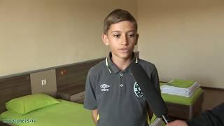 Децата на Лудогорец за условията, които предлага клуба