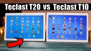 Teclast T20 vs T10: What