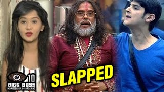 Kanchi Singh STRONG REACTION | Rohan Mehra SLAPS Swami Om | Bigg Boss 10
