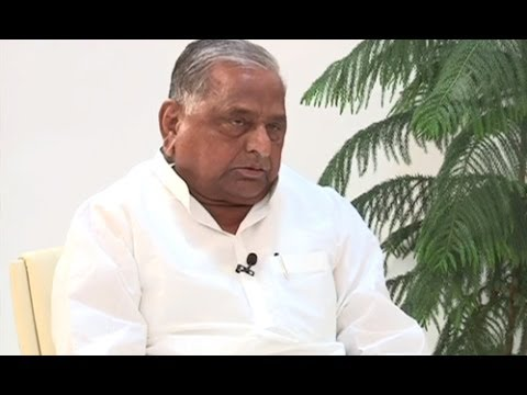 Exclusive interview With Mulayam Singh Yadav