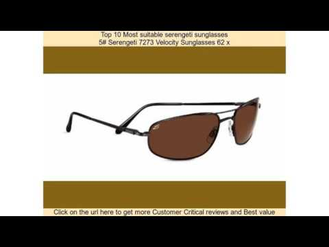 e655b82acbf0 Top 10 Most suitable serengeti sunglasses - YouTube