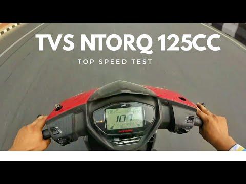 100+ Km/h On Tvs Ntorq   Tvs Ntorq Top speed   Best 125cc Scooty Under 80k