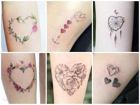 Beautiful Heart Tattoo Design Ideas for Womens