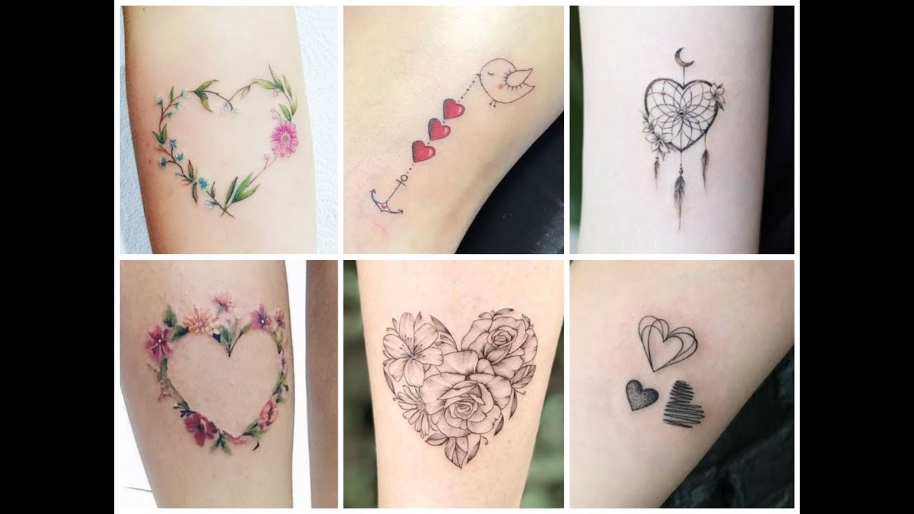 Beautiful Heart Tattoo Design Ideas For Womens Youtube But heart tattoo is the most popular design and ideas for lovers. beautiful heart tattoo design ideas for womens