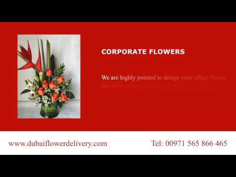 Corporate Flowers and Office Arrangements from Dubai Flower Delivery