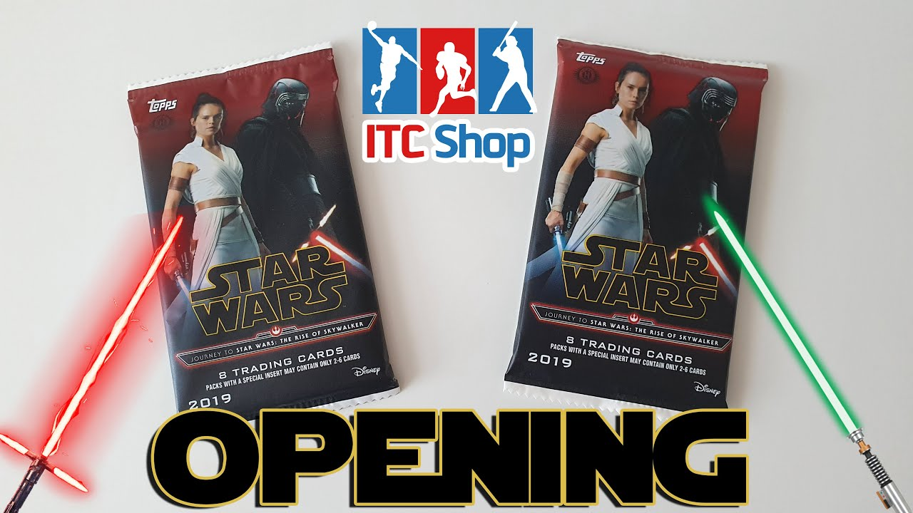 Topps Journey To Star Wars Episode 9 The Rise Of Skywalker Csomag Opening Youtube