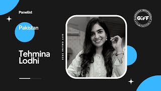 Discussion with Tehmina Lodhi   Media Educationalist   GIFF Online 2020