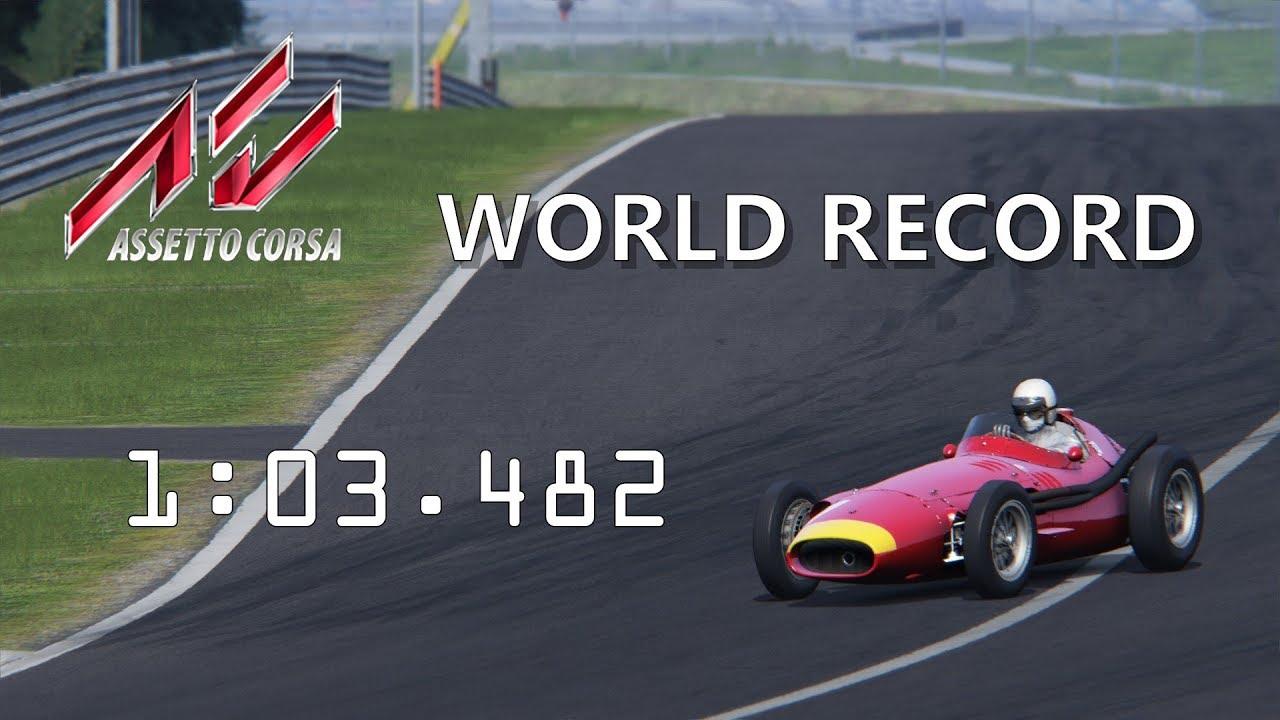 Etto Corsa Maserati 250f 6 Cylinder Red Bull Ring National World Record