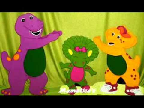 7 days in the week  Barney  Canciones Infantiles low