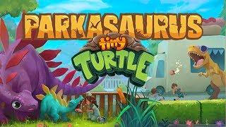 TINY TURTLE'S DINOSAUR PARK! - Parkasaurus #1