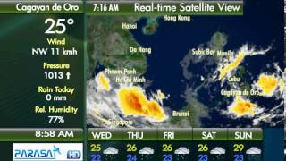 Parasat Weather Update Cagayan de Oro City: January 9, 2013 (9am)