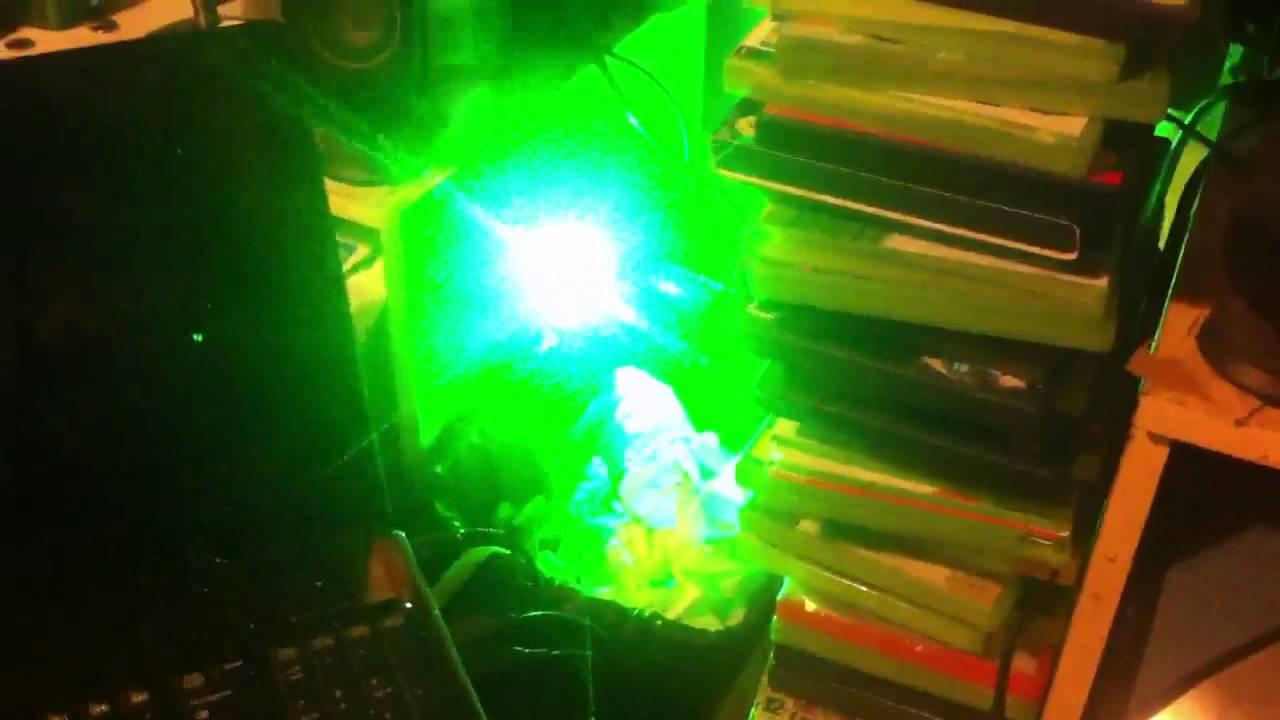 Laser 301 500MW Green Light High Power Laser Pointer Kit