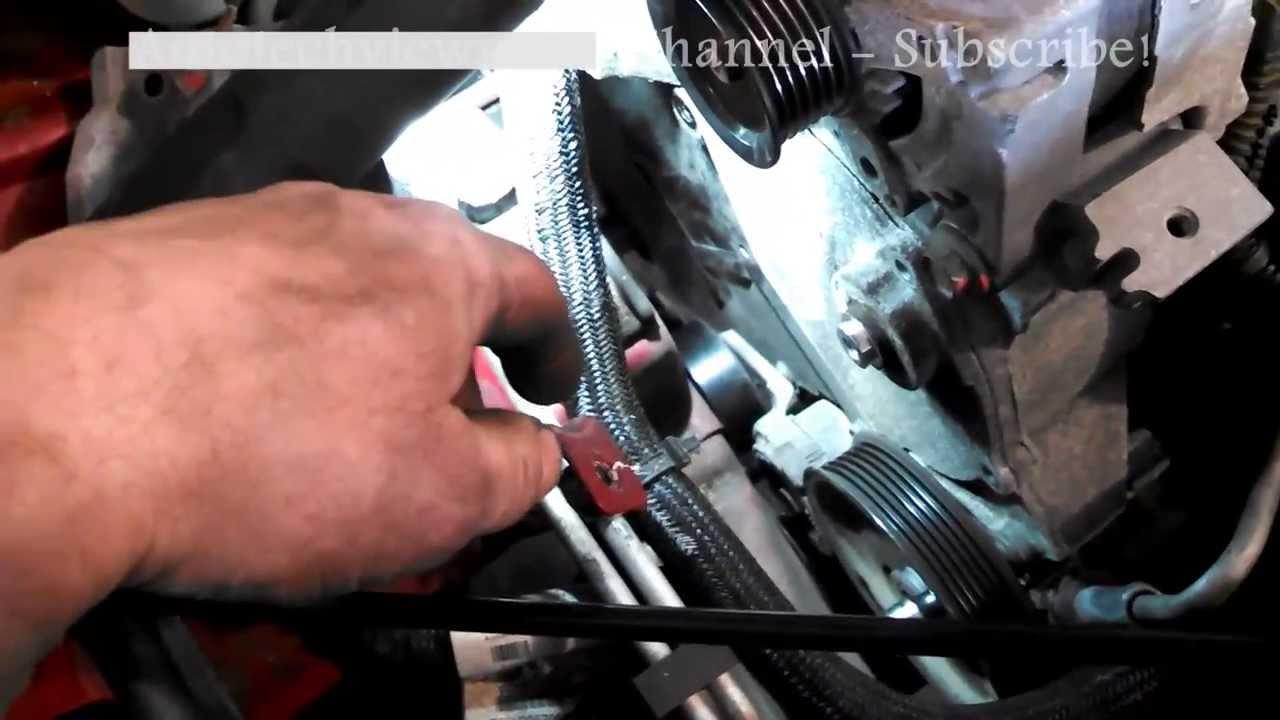 timing belt replacement dodge journey sxt 2009 2010 3 5l. Black Bedroom Furniture Sets. Home Design Ideas