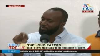 Hassan Joho: I take pride in my D- result in KCSE