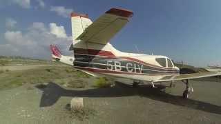 LCA GoPro Private Plane Flight