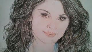 Drawing Selena Gomez