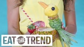 This Insane Pineapple-Carving Trick Will Make Your Jaw Drop | Eat the Trend