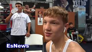 Robert Garcia What Is Wrong With Bfly Poster EsNews Boxing