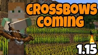 How To Make A Crossbow In Minecraft Pe