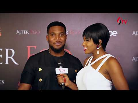 Linda Ikeji TV On The Red Carpet of Alter Ego premiere