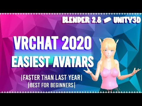 VRChat Avatar Creation Tutorial 2020