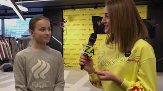 Интервью фигуристки Анны Щербаковой для ZASPORT TV