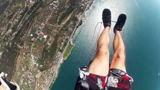 GoPro Paragliding Monte Baldo - Lago di Garda