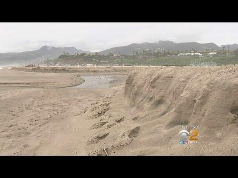 Last Year's El Niño Caused Uprecedented Beach Erosion Along West Coast
