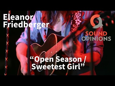Eleanor Friedberger performs Open Season and Sweetest Girl (Live on Sound Opinions)