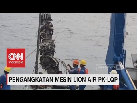 Pengangkatan Mesin Lion Air JT-610 PK-LQP Mp3
