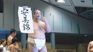 2014年10月17日(金)、秦野巡業に行って来ました! 白鵬がずっと残って...