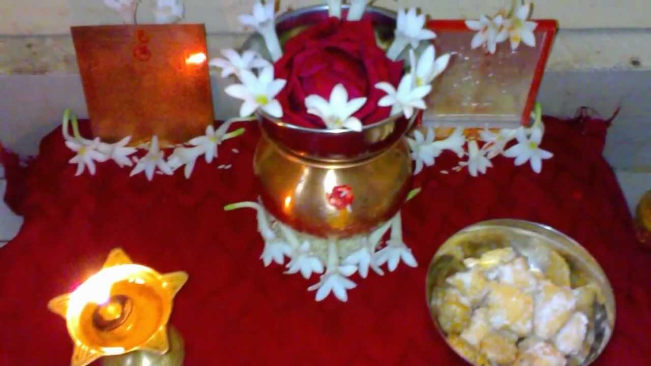 Lakshmi Pooja Decoration Pictures