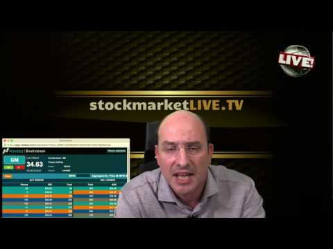 stock market LIVE TV Sell Stocks Market to Plunge