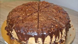 Домашний Шоколадный торт Tez Oson Shokoladli To rt