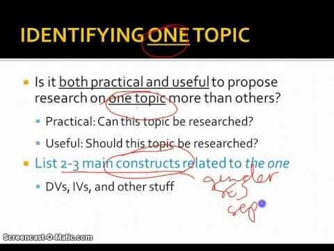 Possible Essay Topics - Roma Tre University