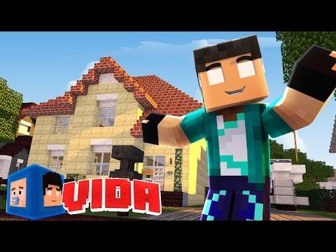 Minecraft : CASA NOVA, VIDA NOVA !!! #194 (MINECRAFT VIDA )