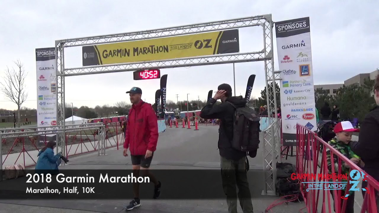 Garmin Marathon in the land of OZ - KS, USA - Apr 18 2020