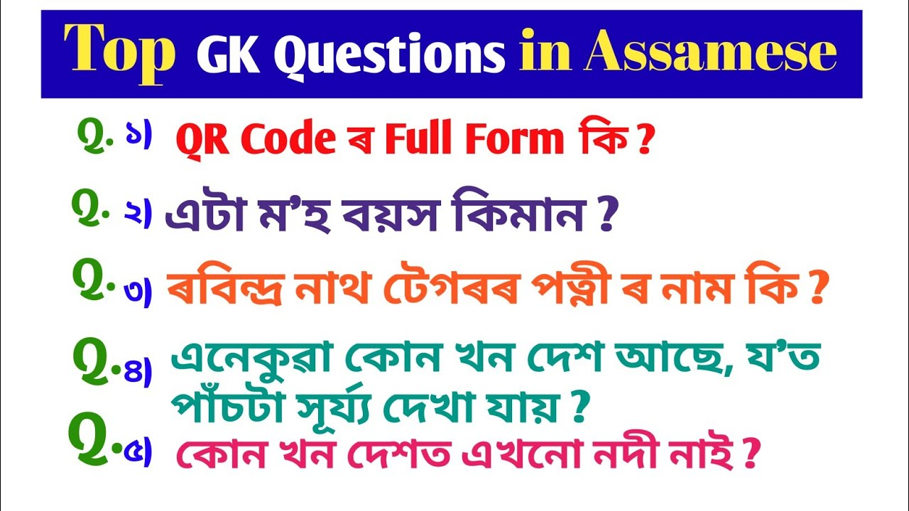 GK 2019/ General knowledge/ important GK Questions and ...