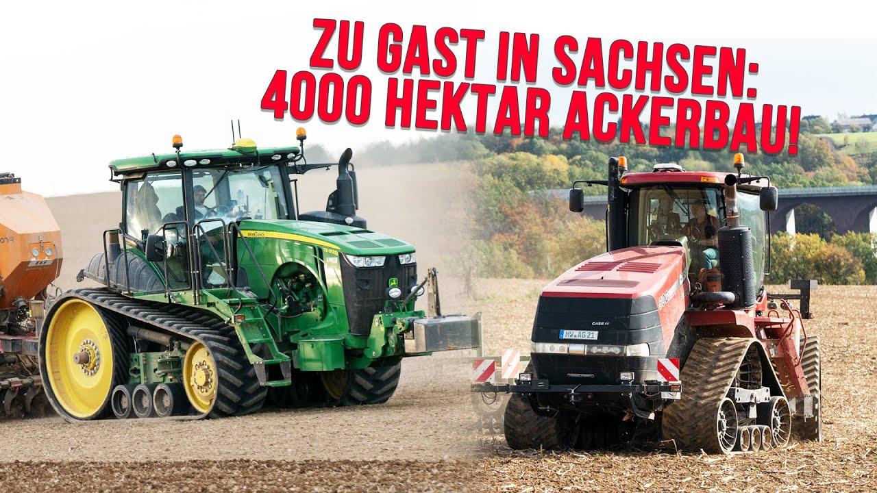 Download Agrargenossenschaft Grünlichtenberg: Landwirtschaft auf 4000ha (Claas Xerion, John Deere 8RT, Kelly)