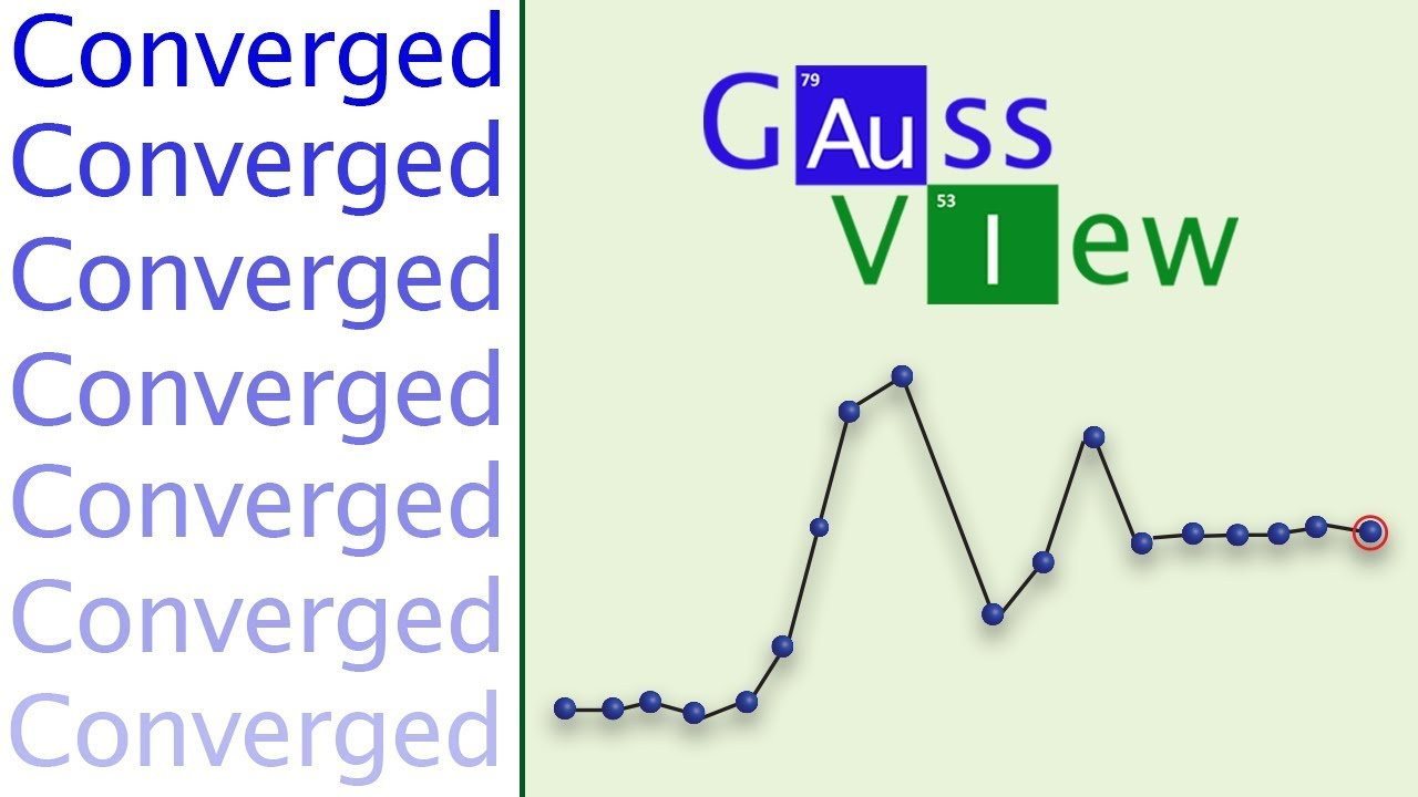 GaussView 6 Tutorial 3: Visualizing Results