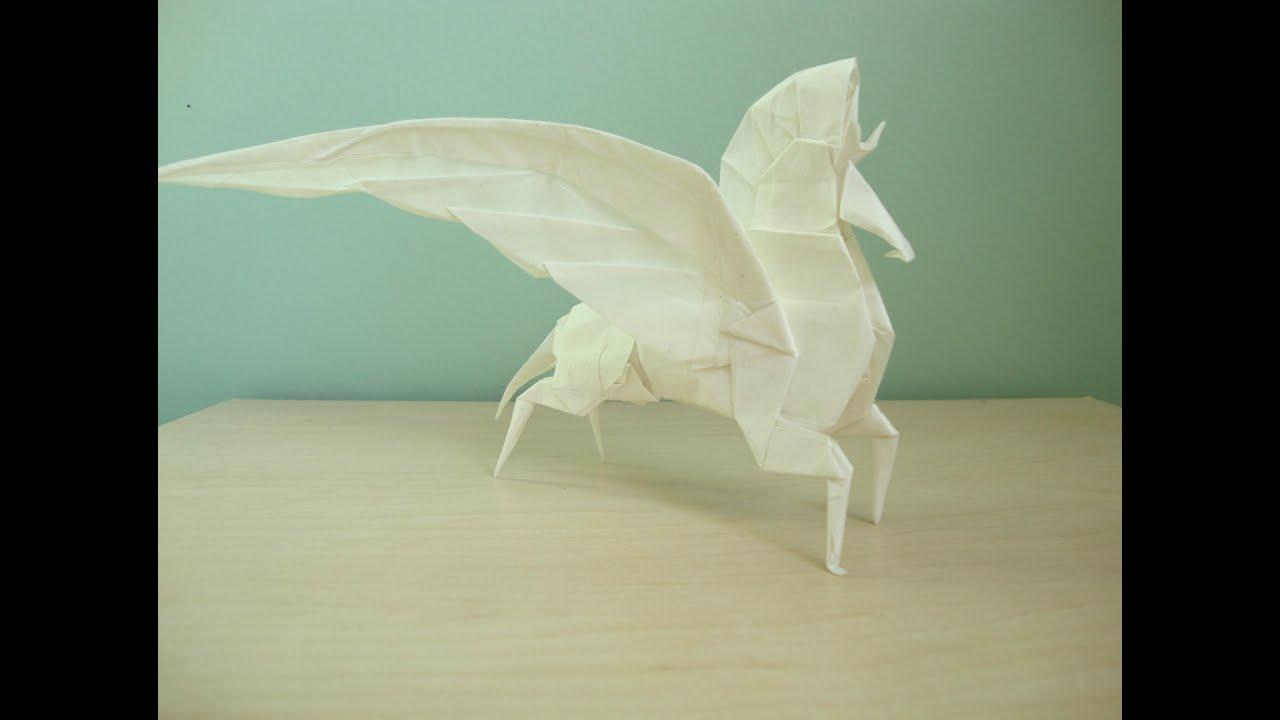 Origami Pegasus Youtube