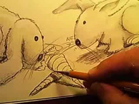 How to Draw Robots and Bunnies!