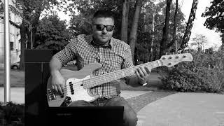 Gordon Haskell - You gotta roll with it bass cover by Kijas