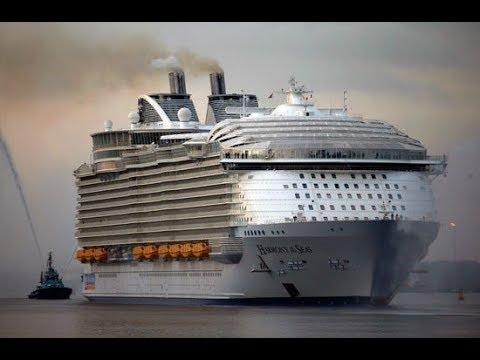 أكبر سفينة فى العالم لسنة 2019 من انجلترا جزء اول