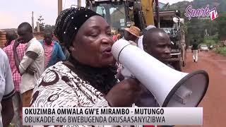 Obukadde 406 bwebugenda okusaasanyizibwa mu kuzimba omwala gw'e Mirambo e Mutungo