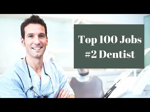 Top 100 Jobs #2 Dentist