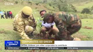 Kenyan corporations join local communities in going green