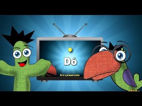 Tv Da Turminha As Notas Musicais Episódio 2 Clipe Infantil