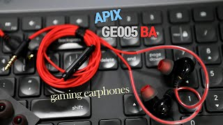 배그이어폰, 게이밍이어폰  gaming earphone…